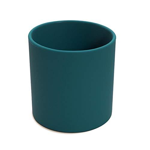 Copas De Champán, Tazas, Regalos Vaso Para Beber Vasos De Silicona Para Vasos Y Vasos De Agua A Prueba De Fugas Botella 220Ml, Azul Océano
