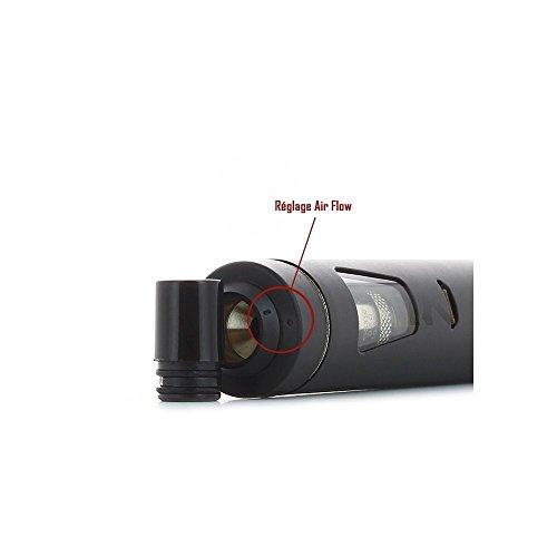 Joyetech eGo AIO (Alles In einem) E-Zigarette STARTERKIT - Wiederaufladbar 1500mAh Batterie, 2ml Cubis Stil Auslaufsicher Clearomizer Zerstäuber - Kindersiche Schloss - Wähle Farbe - Rot & Weiß