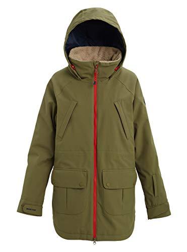 Burton Damen Prowess Snowboard Jacke, Martini Olive, M