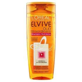 Elvive – Huile Extraordinaire Shampooing Nourrissant Cheveux Secs Ou coupés 250 ml