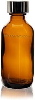 Premium Life LB165-2 Boston Round Bottles, 2 oz. (Pack of 12)