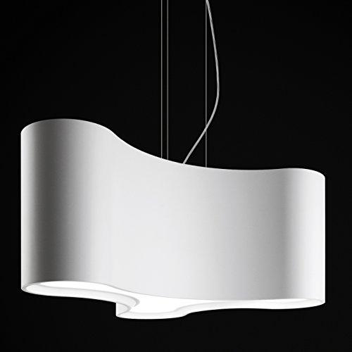 Vibia Ameba Single - Lámpara de techo, color gris