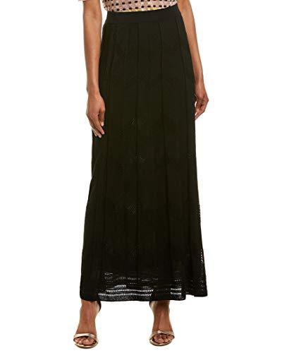 M Missoni Womens Maxi Skirt, 38, Black