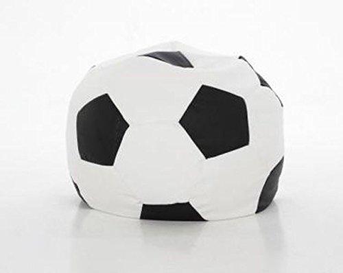 ItalPol Produkt Puff puf pouf pouff poltrona sacco in ecopelle simipelle. Pallone calcio 100cm.