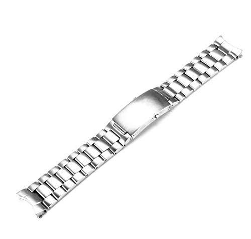 ROUHO 22Mm Watch Band Poliert Edelstahl Für Omega Seamaster Planet Ocean 007-Nr.1