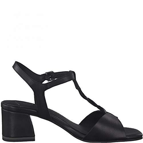 MARCO TOZZI Sandalias para Mujer 2-28212-26, Talla:40 EU, Color:Negro