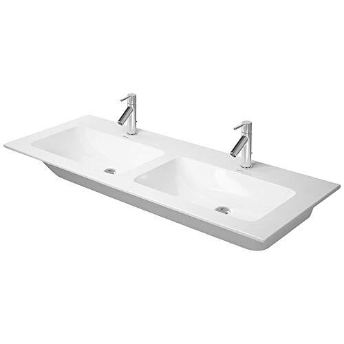 Duravit Doppel-Waschtisch ME by STARCK 1300 mm, weiß, WG, 23361300001
