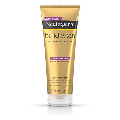 Neutrogena Build-A-Tan Gradual Sunless Tanning Lotion