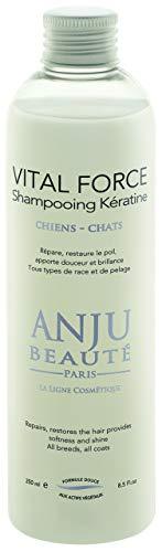 Anju Vital Force Shampooing Kératine pour Chien et Chat - 250 ml