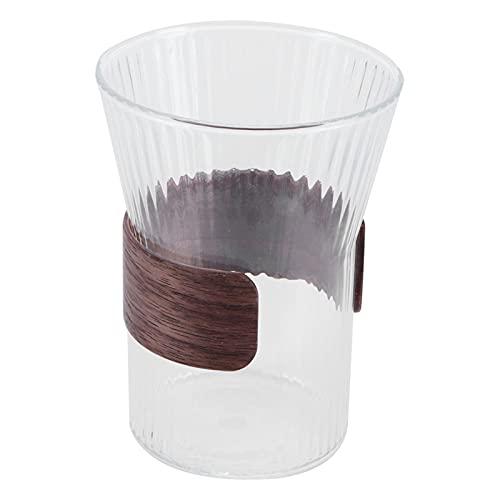 Ufolet Vaso de Ron, Resistente, Multiusos, para Whisky, Lavable a máquina, Vaso de Cerveza, Copa de Vino, Vaso de borosilicato Alto para el hogar, café, Pub, Bar, Fiesta