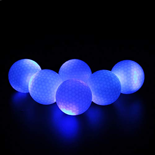 Fantastic Deal! ILYSPORT LED Light up Golf Balls, Glow in The Dark Night Glow Golf Balls