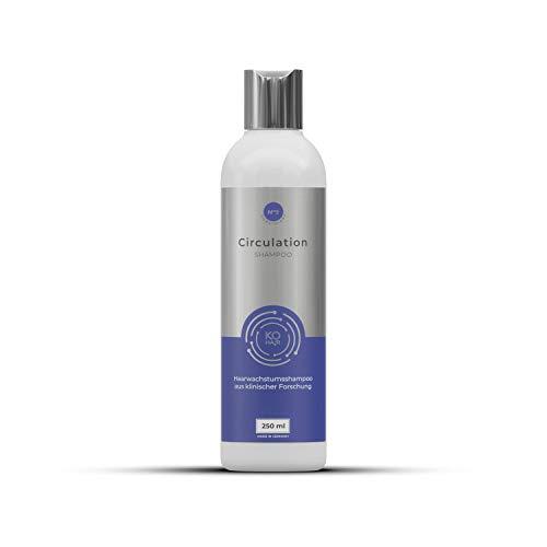 Circulation Shampoo mit 1% Redensyl gegen Haarausfall zur Haarverdichtung 250 ml Anti-Haarausfall Mittel mit Koffein für Männer und Frauen KÖ-HAIR