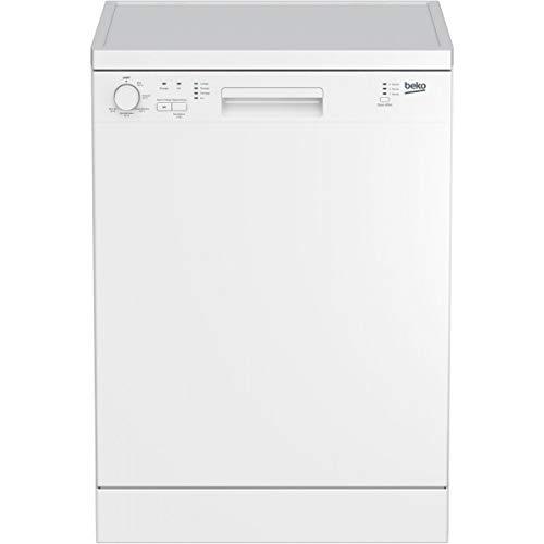 Beko DFN100 Autonome 12places A+ lave-vaisselle - Lave-vaisselles (Autonome, Blanc, Taille maximum (60 cm), Blanc, boutons, Rotatif, LED)