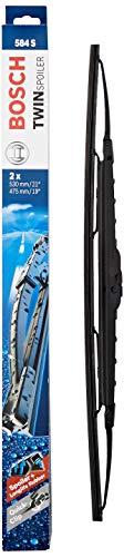 Bosch Scheibenwischer Twin Spoiler 584S, Länge: 530mm/475mm – Set für Frontscheibe