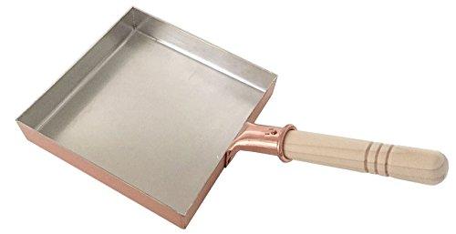 中村銅器製作所 銅製 玉子焼鍋 18角