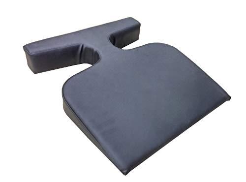 DevLon NorthWest Massage T Wedge Bolster Cushion Feminine Breast Pillow Color Black (Black)