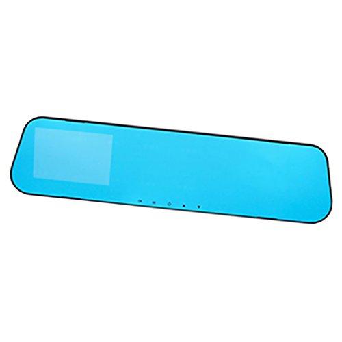 MagiDeal 4'' Rear View Mirror Voiture Rétroviseur LCD Moniteur Caméra de Recul Vision Nuit Parking