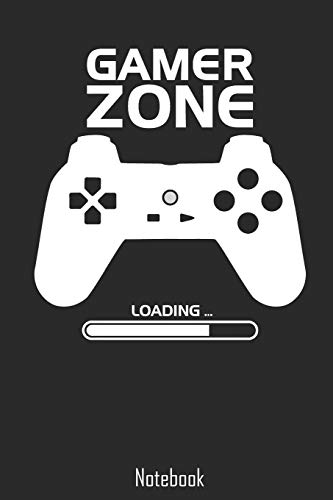 Gamer Zone: Awesome Gamer Zone Loading Notebook | college book | diary | journal | booklet | memo | composition book | 110 sheets - ruled paper 6x9 inches