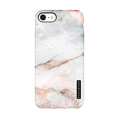 iPhone 8 & iPhone 7 & iPhone SE 2020 Case Marble, Akna GripTight Series High Impact Silicon Cover with Ultra Full HD Graphics for iPhone 8 & iPhone 7 & iPhone SE 2020 (Graphic 102227-US)