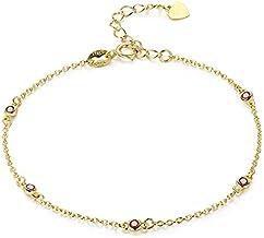 asx zilveren enkelbanden voor vrouwen Slim CZ 925 Sterling Zilver Goud Kleur Ketting Charm Voet Sieraden Enkelband Voor Vr...