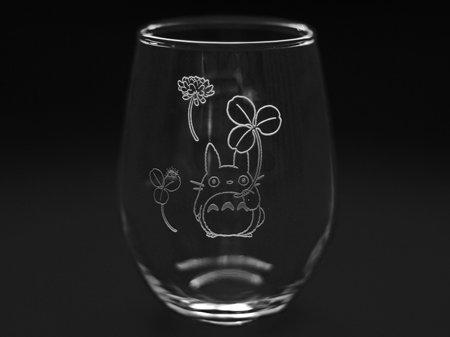 Noritake mi vecino totoro vaso copa de vidrio