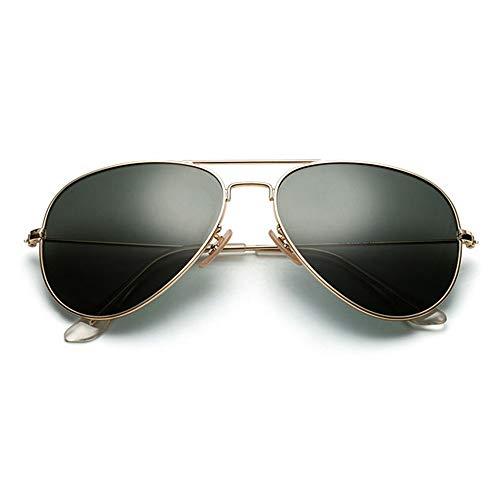 WHSS Gafas de sol UV400 Verde Vidrio Polarizado Gafas De Sol Hombres Desgaste Lente Anti-reflejo Pesca Conductor Gafas De Sol