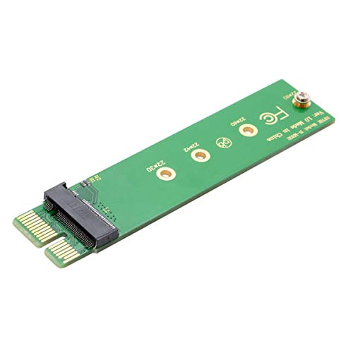NGFF M-Key NVME AHCI SSD to PCI-E 3.0 1x x1 Vertical Adapter for XP941 SM951 PM951 960 EVO SSD