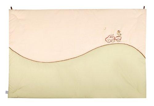 Julius Zöllner 9520010320 Tapis de jeu motif girafe, en coton organique, 95 x 135 cm
