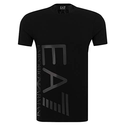 Emporio Armani Camiseta para hombre EA7 3ZPT36 PJM5Z, manga corta, cuello redondo