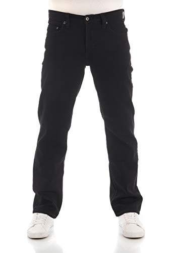 MUSTANG Herren Jeans Big Sur Regular Fit Jeanshose Hose Denim Stretch Baumwolle Schwarz Denim Black w30-w40, Größe:34W / 32L, Farbvariante:Denim Black (4000-940)