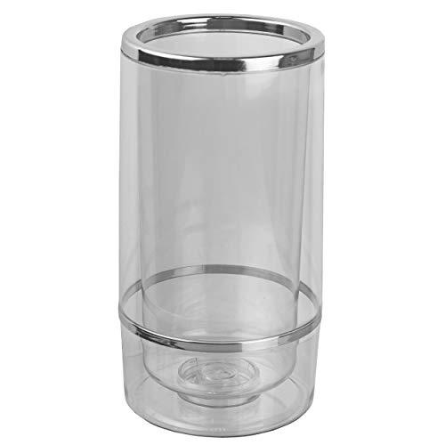 HRB Flaschenkühler doppelwandiger Kühlmanschette für Flaschen wie Wein Champagner und Sekt, Cool Twister Outdoor, Weinkühler mit Einer Höhe von 23 cm und einem Ø 11,5 cm