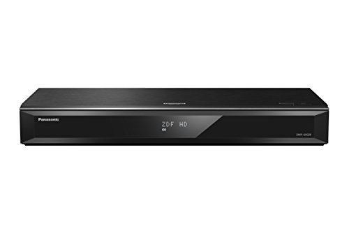 Panasonic DMR-UBC80EGK Ultra HD Blu-ray Recorder (1TB HDD, 4K Blu-ray Disc, UHD TV Kabelempfang, 2 x DVB-C/T2 HD Tuner)