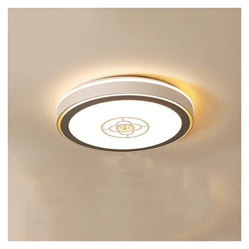 YI0877CHANG Lampara Techo Lámpara de Techo de Dormitorio Iluminación Creativa Lámpara de Sala de Estar Redonda Techo Luces de Techo para Cocina Sala de Estar Dormitorio Lampara Plafon