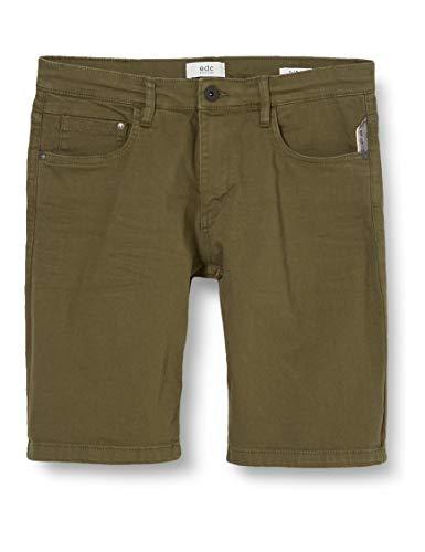 edc by ESPRIT Herren 030CC2C301 Shorts, 361/OLIVE 2, 32