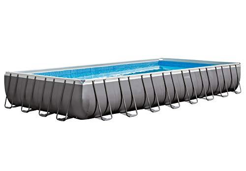 Piscina Intex Ultra Frame 9,75 m x 4,88 m x 1,32 m con depuradora de arena