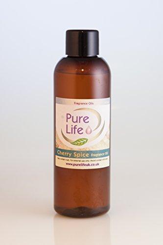 Preisvergleich Produktbild Duftöl Cherry Spice Kosmetische Qualität,  Duftöl zur Herstellung von Kerzen,  Seifen und Badekugeln,  erhältlich in 10ml-,  50ml-,  100ml- und 200-ml-Flaschen,  100 ml