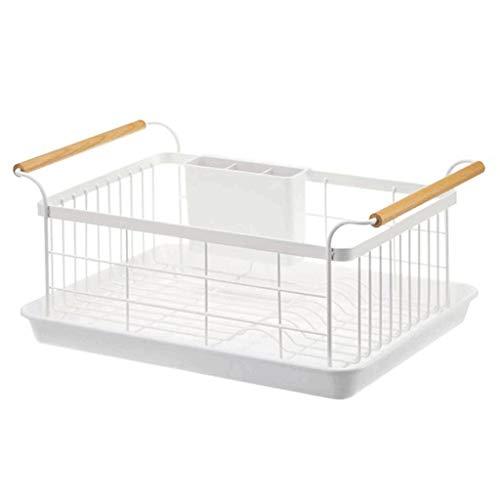 Qiutianchen Küchengericht-Rack-Drain-Rack-Waschbecken-Spülständer Multifunktionsgeschirrschüssel