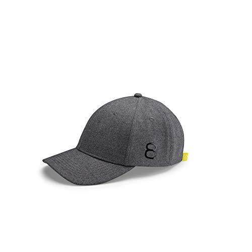 Volkswagen 5H0084300A Basecap Mütze Baseballkappe Kappe Cap Baumwolle Baseballcap, grau