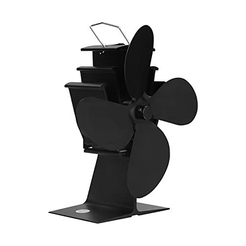 Ventilador De Estufa De Energía Térmica, Diseño De Estructura Profesional Ventilador De Estufa Tecnología Térmica Clásica Funcionamiento Silencioso Ahorro Efectivo Del Consumo De
