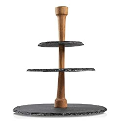 slate 3-tier charcuterie tower for sale
