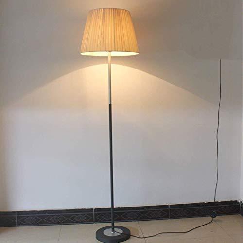 BXU-BG Lámparas de pie, llevó la lámpara de pie, sala de estar moderna Lámpara de piso, dormitorio del hotel Reserva Bed lámpara retro creativo Estudio de la lámpara del ojo-El cuidado de luz vertical