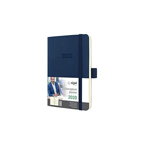 SIGEL C2033 Wochenkalender 2020, ca. A6, dunkelblau, Softcover Conceptum - weitere Modelle
