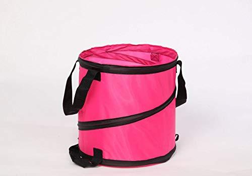 Floraworld 012855 Mini-Abfallsack Comfort 27 cm, Ø 27 cm, 15 Liter, pink
