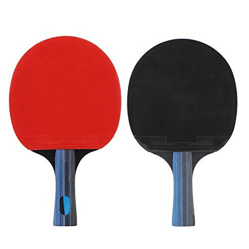 AMONIDA Raqueta Recta Raqueta de Ping Pong, pádel de Tenis de Mesa, Juegos de Interior y Exterior para Hacer Ejercicio y Jugar de Forma Informal Deportes Fitness Entretenimiento y Movim