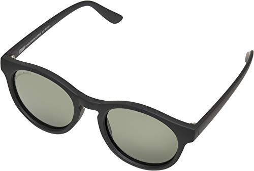 Urban Classics Sunglasses Sunrise UC, Occhiali Unisex-Adulto, Nero/Verde, One Size