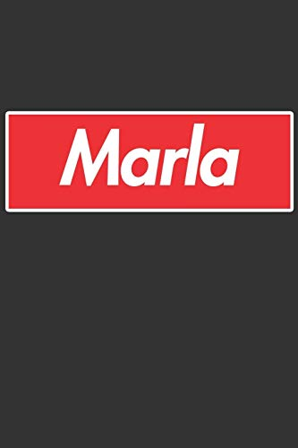 Marla: Marla Planner Calendar Notebook Journal, Personal Named Firstname Or Surname For Someone Called Marla For Christmas Or Birthdays This Makes The Perfect Personolised Custom Name Gift For Marla