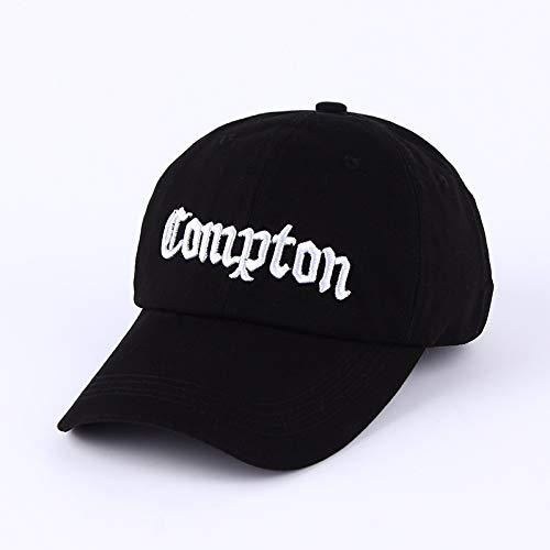 JJZD 2020 New Stadt Name Compton Old English Bill Cap mit englischem Stickerei...