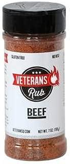 Veterans Q Rub All Natural Seasoning Gluten & MSG Free NON GMO (Beef)