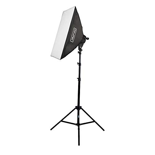 "FOVITEC - 1-Light 1000W Fluorescent Lighting Kit for Photo & Video with 20""x28"" Softbox & Stand"