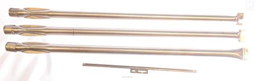 Music City Metals Juego de quemadores de Acero Inoxidable de Repuesto para Parrilla de Gas Weber, 128B4